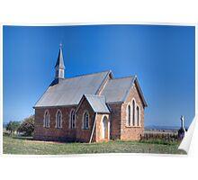 St Saviour's Church, Iandra, NSW Poster