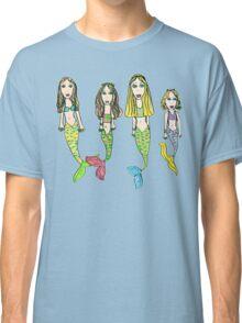 Tane's Drawing of My Girls as Mermaids Classic T-Shirt