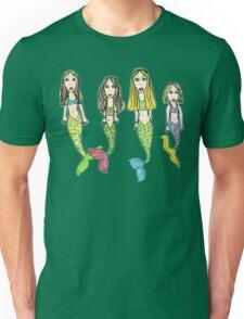 Tane's Drawing of My Girls as Mermaids Unisex T-Shirt
