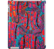 Wild, colorful, abstract, Tennis Art iPad Case/Skin