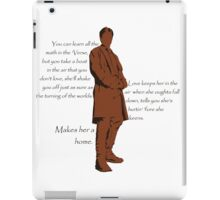 Firefly - Captain Mal Reynolds on Love iPad Case/Skin