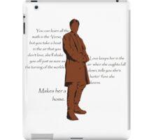 Firefly - Captain Mal Reynolds on Love iPad Case/Skin