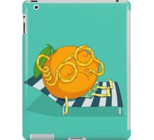 Orange Juice iPad Case/Skin