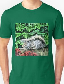 Mohican Squirrel Unisex T-Shirt