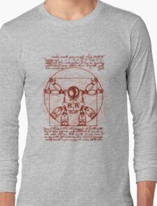 Vitruvian ribbon Long Sleeve T-Shirt