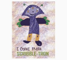 I Come From Scribble-Tron Kids Clothes