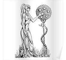 An Alien In Eden Poster
