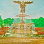 Bethesda Fountain Central Park by Felix  Zapata
