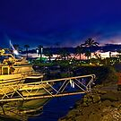 Evening Harbour~ by WJPhotography