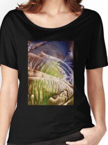 Intensely immersive hollow light flight Women's Relaxed Fit T-Shirt
