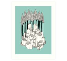 Village I Art Print