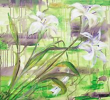 Stargazer Lillies by Tracy Manning