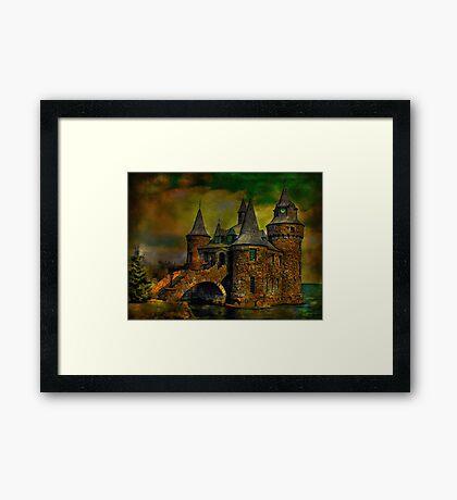 ...castle Framed Print