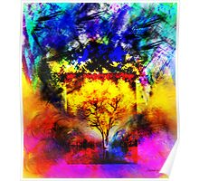 The Flaming Tree Poster