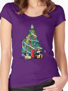 Christmas 2013 Women's Fitted Scoop T-Shirt