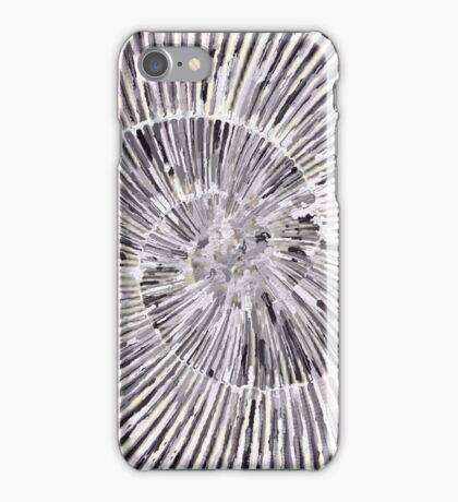 Flat Shell Spiral iPhone Case/Skin