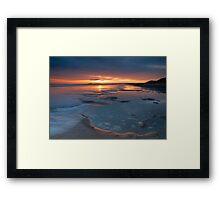 Shifting Tide Framed Print