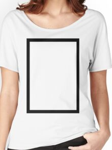 THE 1975 - BLACK RECTANGLE Women's Relaxed Fit T-Shirt