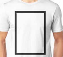 THE 1975 - BLACK RECTANGLE Unisex T-Shirt
