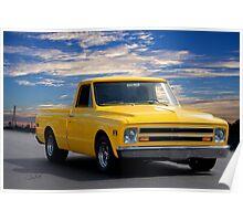 1968 GMC 'Jimmy' Pickup Truck Poster