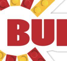 BUILD WITH BRICKS Sticker