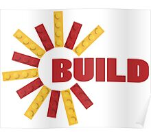 BUILD WITH BRICKS Poster