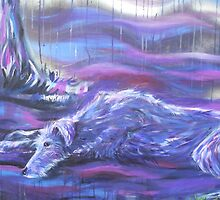 Loki the Deerhound by Tracy Manning