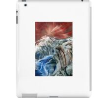 Morphing obscure horizons into shifting emotions iPad Case/Skin
