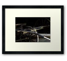 Buggy In Hiding Framed Print
