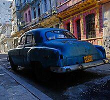 Havana Street scene, Havana, Cuba by buttonpresser
