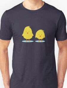 couple of chickens Unisex T-Shirt