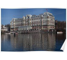 Amtel Hotel on the River Amstel Poster