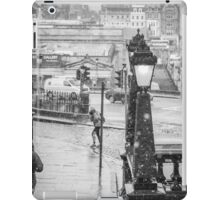 Snowfall in Edinburgh iPad Case/Skin