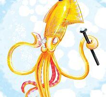 Squid Gentleman by Samantha Rametta