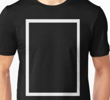 THE 1975 - WHITE RECTANGLE Unisex T-Shirt
