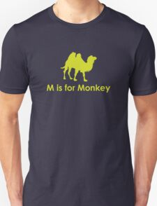 M is for Monkey T-Shirt