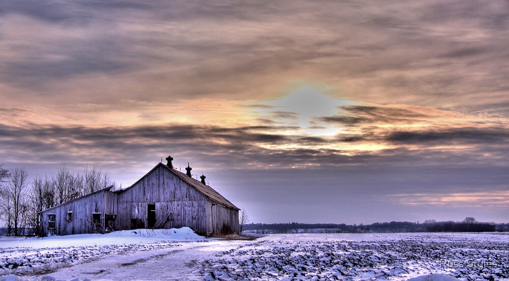 sun burnt, wind battered and snow swept... by Russ Styles