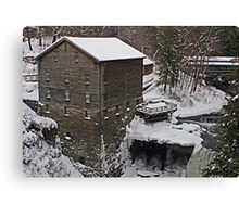 Winter at the Mill Canvas Print