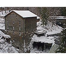 Winter at the Mill Photographic Print