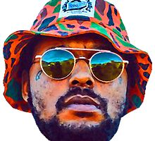 Schoolboy Q Oil Painting by therealgiselle