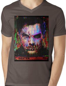 Dexter Morgan.The Quiet Ones. Mens V-Neck T-Shirt