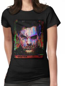 Dexter Morgan.The Quiet Ones. Womens Fitted T-Shirt