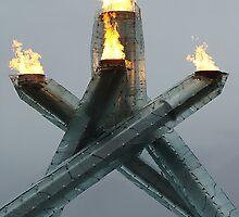 Olympic Cauldron 2010 by RobertCharles