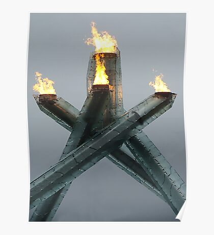 Olympic Cauldron 2010 Poster