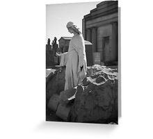 Untitled Gravestone Photo #2 Greeting Card