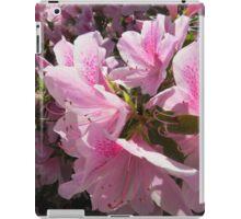 Pretty Pink Azalea Blossoms iPad Case/Skin