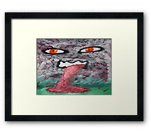 Blood Storm Framed Print