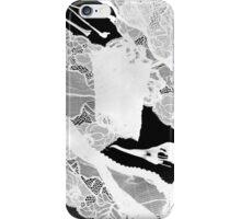 Birdbones & panties photogram iPhone Case/Skin