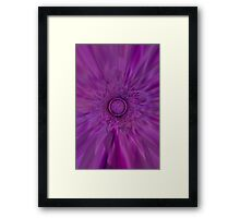 Purple Psychedelic  Framed Print