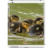Little Ducklings Happy Together iPad Case/Skin